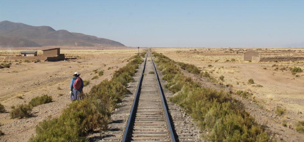 The Altiplano outside La Paz